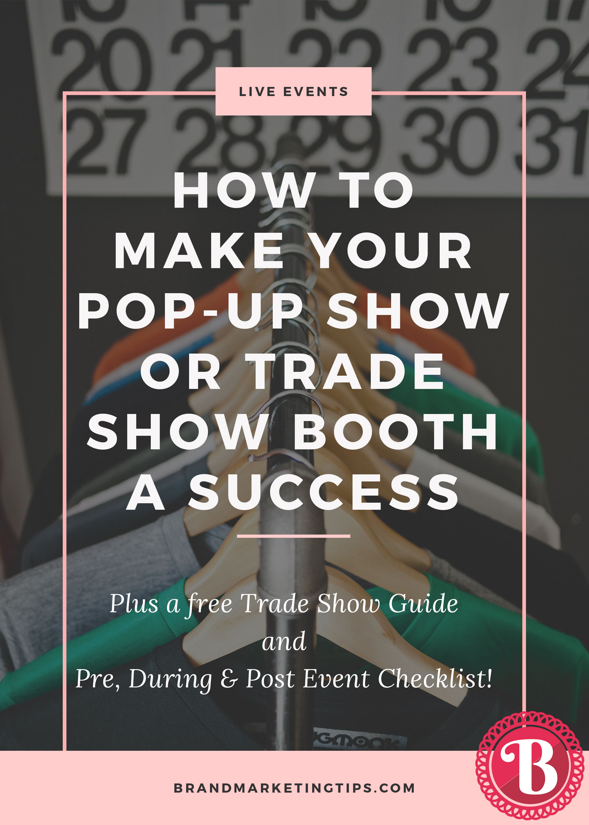 Exhibition Booth Checklist : How to make your pop up show or trade show booth a success