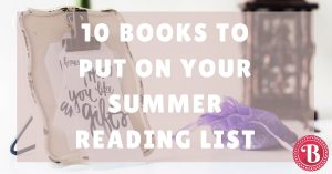 Summer Reading List Picks