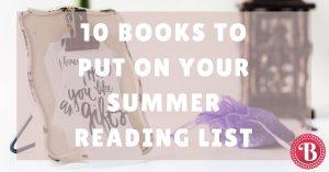 Summer Reading List Picks