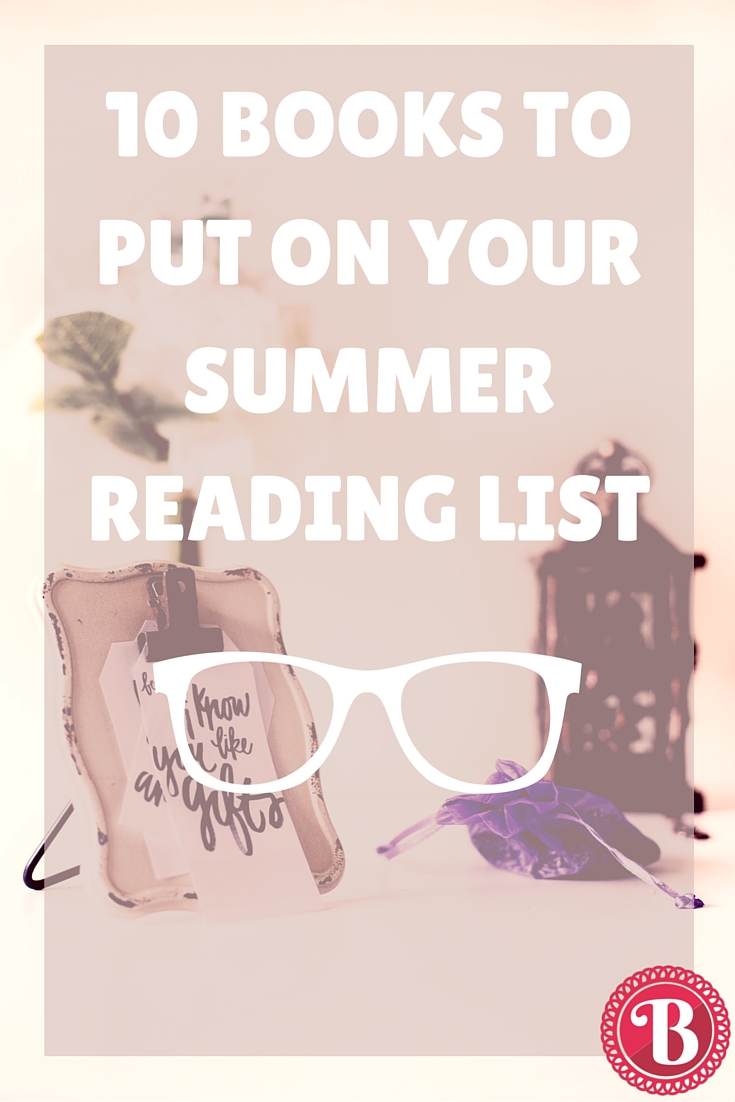 PIN - 10 Books Summer Reading