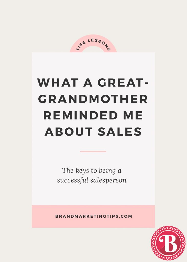 Keys to being a successful salesperson